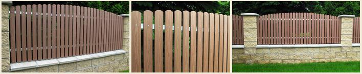 Bezúdržbové plotovky - plastové plotovky