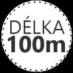 DÉLKA 100m