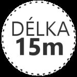 DÉLKA 15m