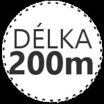 DÉLKA 200m
