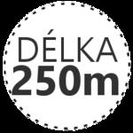DÉLKA 250m