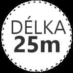 DÉLKA 25m
