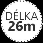 DÉLKA 26m