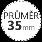 PRŮMĚR 35mm