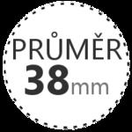 PRŮMĚR 38mm