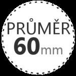 PRŮMĚR 60mm