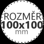 ROZMĚR 100x100mm