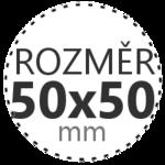 ROZMĚR 50x50mm