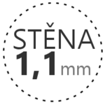 STĚNA 1,1mm