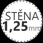 STĚNA 1,25mm