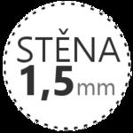STĚNA 1,5mm