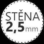 STĚNA 2,5mm