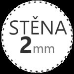 STĚNA 2mm
