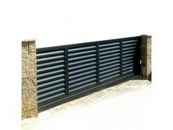 Hliníková brána Antracit posuvná 5000x1600mm