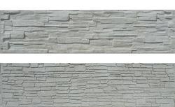 Betonový panel štípaný kámen 2-str. přírodní  200x50x4