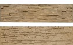 Betonový panel štípaný kámen 2-str. pískovec  200x50x4