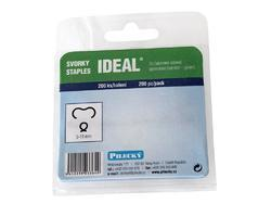 Svorka Ideal poplast - 200 ks