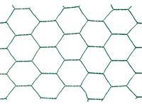 Chovatelské šestihranné pletivo Zn+PVC 25/1000, drát 1,0