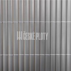 Bambus umělý šedý 12 mm,role 3 m