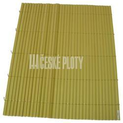 Bambus umělý žlutý mini 7mm, role 3 m