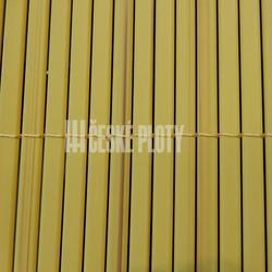 Bambus umělý žlutý 12mm,  role 3 m