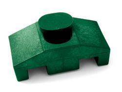 Úchyt panelu plast k jekl.sl.Super vč. texu  6,3/45 zelená