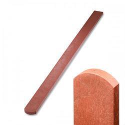 Recyklát cihlová půlkulatá, 120 cm