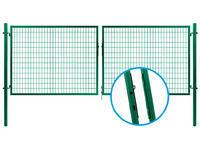 Brána SOLID 3626 mm se svař.sítí  oko 100x50