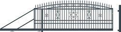 Brána posuvná levá ALICE