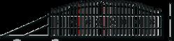 KP TOLA BRÁNA POSUVNÁ v.1440xš.4000 mm Levá s poho