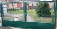 Zahradní brána psaníčko FAB