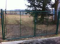 Zahradní brána celovýplet 3600mm-oko