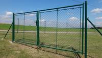 Zahradní brána celovýplet FAB