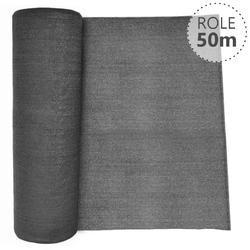 Stínící tkanina 90% - 130 g/m2, antracit, role 50m