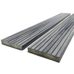Dřevoplast WPC drážkovaná greywood rovná 70x11 mm