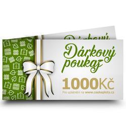 Dárkový poukaz celoroční 1000 Kč