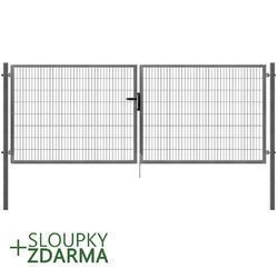 Brána Pilofor Super 4090 mm, svařovaný panel, FAB, zinek