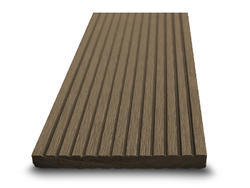 Dřevoplast WPC drážkovaná palisandr rovná 100x10 mm