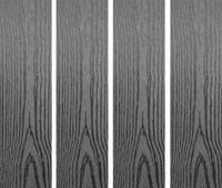 Dřevoplast WPC hladká/dřevo šedá 85x13