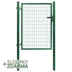 Branka Solid 1073 mm, svařovaná síť, dozický zámek, zelená