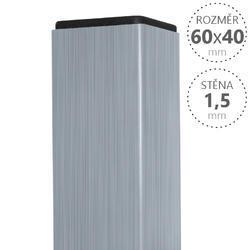 Sloupek Pilodel 60/40/1,5 mm Zn