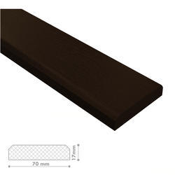 Plotovka NomaWood 70x17mm Dark Brown