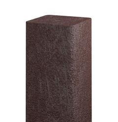 Recyklát hranol 73x73 mm,2 m,hnědý