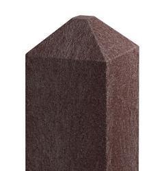 Recyklát hranol 92x92 mm,2 m,diamant.hnědý
