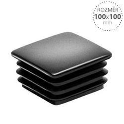 Krytka 100x100 černá