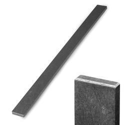 Recyklát šedá rovná 78x21 mm