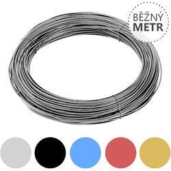 Vázací drát Zn+PVC 1,4/2,0mm, barevný, BM