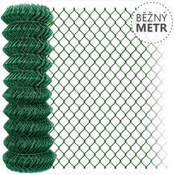 Pletivo poplastované zelené bez zapletného drátu, metr