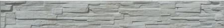 Betonový panel štípaný kámen 1-str. přírodní  2000x250x40 mm - 1