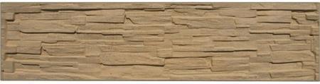 Betonový panel štípaný kámen 1-str. pískovec  2000x500x40 mm - 1